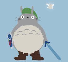 Link Totoro  Kids Tee