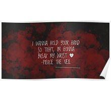 Bulletproof Love - Pierce The Veil Poster