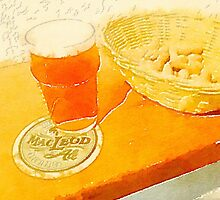 A pint and some peanuts by Douglas E.  Welch