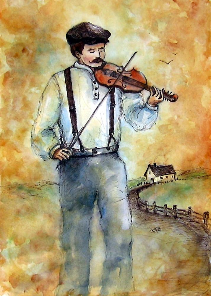 Fiddler by Robin Spring Bloom