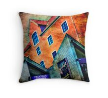 Packhaus Theater at the Schnoor Throw Pillow