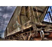 Riding the Rail Photographic Print