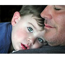 Proud Daddy.... Photographic Print
