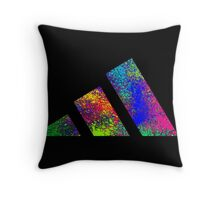 Adidas colours Throw Pillow
