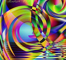 Ripples and Curls by Julie Everhart