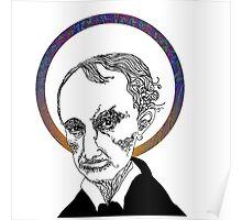 Baudelaire was no Saint Poster
