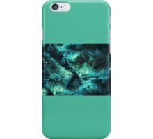 Blue and Green Galaxy  iPhone Case/Skin