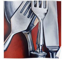 Sterling Cutlery  Poster