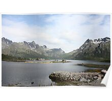 View from the Lofotens Poster