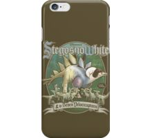 PREHISTORIC PRINCESS - StegosnoWhite & The Seven Velociraptors iPhone Case/Skin