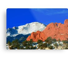 Love in the Rockies Metal Print