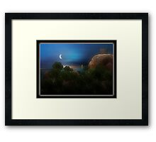 ©The Coastal Brocoli I-A Framed Print