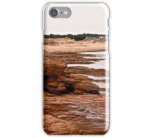 Rocks at Cavendish Beach, PEI, Canada iPhone Case/Skin