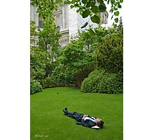 English Siesta Photographic Print