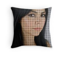 Sexy Ribbons Throw Pillow