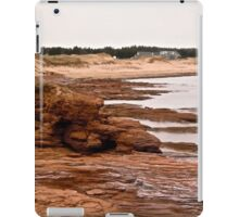 Rocks at Cavendish Beach, PEI, Canada iPad Case/Skin