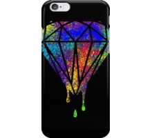 Diamond drip splash iPhone Case/Skin