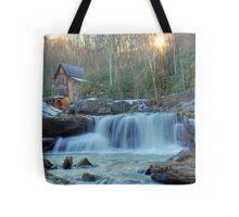 Sunset on Glade Creek Tote Bag