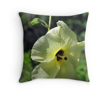 Butter Yellow Throw Pillow
