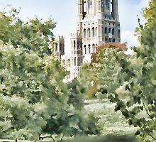Ely Cathedral by Ann Garrett
