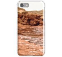 Rocks and Sand Dunes at Cavendish Beach, PEI Canada iPhone Case/Skin