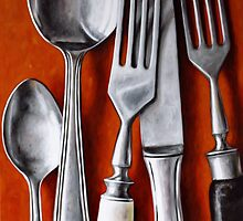 Sterling Cutlery  II by Klaus Boekhoff