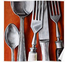 Sterling Cutlery  II Poster