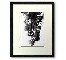 Maddening shroud Framed Print