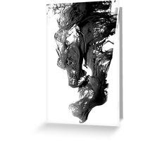 Maddening shroud Greeting Card