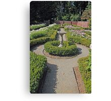 the Formal Gardens Canvas Print