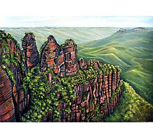 Etched in Time, Blue Mountains Photographic Print