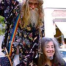 Grandpa Woodstock and Queen Estar by Jeannette Sheehy
