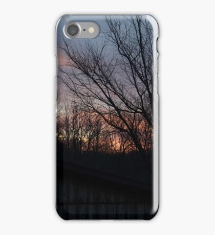Silhouettes and Sunrines iPhone Case/Skin