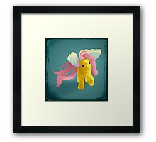 Little Flitter Framed Print