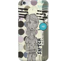 Hi sketch! iPhone Case/Skin