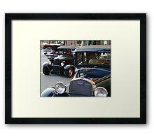 Old Cars Framed Print