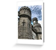 Towering Crenulations Greeting Card