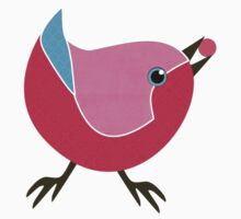 Bird with Berry Kids Clothes