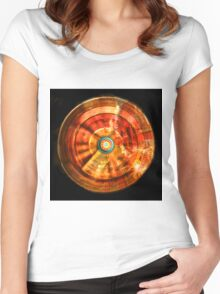Vortex 2000 Square Women's Fitted Scoop T-Shirt