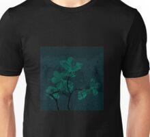 Oak Leaves - Mint Texture Unisex T-Shirt