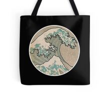 The great wave - Round Tote Bag