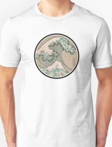 The great wave - Round T-Shirt