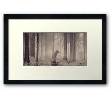 Ghost... Framed Print
