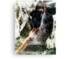 Rising Above The Surface Canvas Print