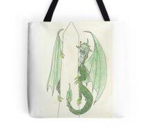 Ingress Enlightened Green Dragons DC Tote Bag