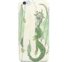 Ingress Enlightened Green Dragons DC iPhone Case/Skin