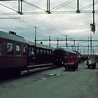 Early morning Boden Sweden 198406180001 by Fred Mitchell