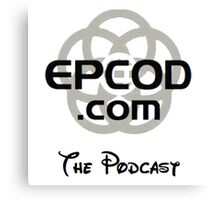 Epcod.com The Podcast Canvas Print