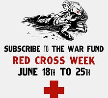 Red Cross Week -- Your Money Or His Life by warishellstore
