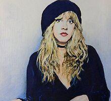 Stevie Nicks Fan Art by Marina Coffey